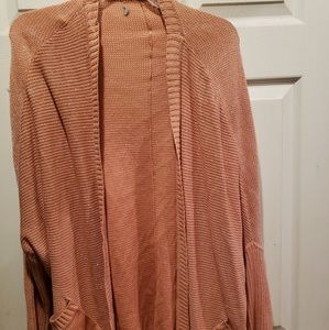 Sweaters - 2x Open front Cardigan with pockets